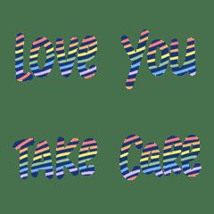 彩虹英語常用字