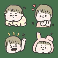 babu babu cute baby!fusafusa!emoji