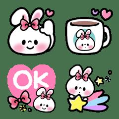 Usagi Ribbon emoji 7