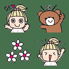Various emoji 800 adult cute simple