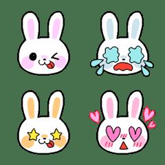 Cute rabbit emoji for adults