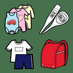 emoji school baby