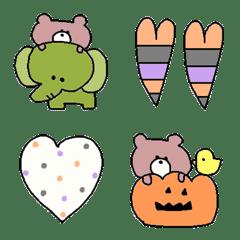 Various emoji 809 adult cute simple