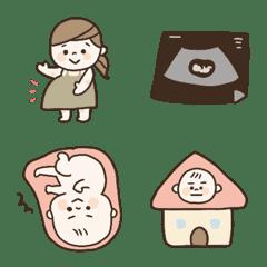 pregnant woman emoji