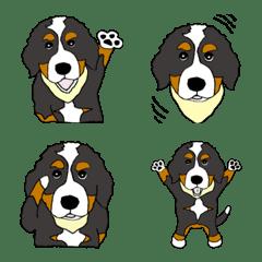 Emoji of Bernese Mountain D...