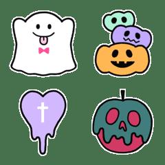 Cute ghost-chan Emoji2