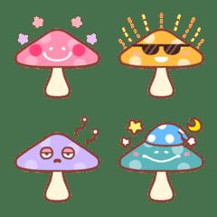 Cute mushroom emoji