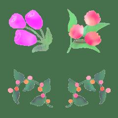 Marble flower frames