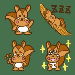 松鼠LILLY 表情符號