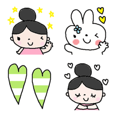 Various emoji 830 adult cute simple