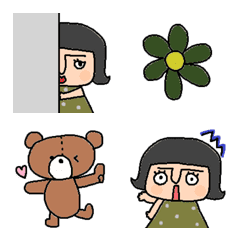 Various emoji 852 adult cute simple