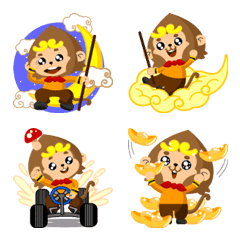 Magic Monkey King Emoji