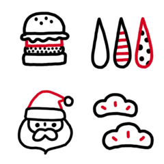 Chic and cute winter Emoji