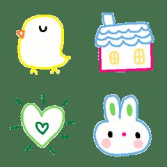 Various emoji 878 adult cute simple