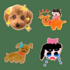 OCHA and NINA, cutest emoji...