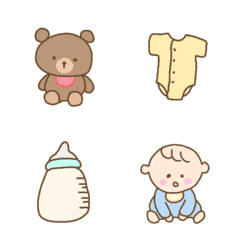 Baby Emoji set
