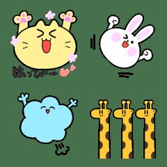 Kawaii Animals Emoji 1