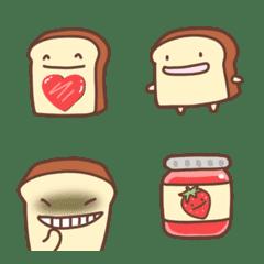 Fluffy bread emoji