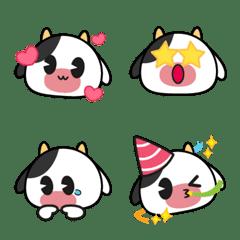 Sapi the Cute Cow Emoji