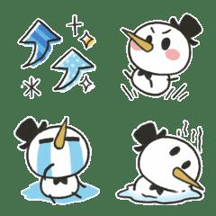 雪紳士象形圖