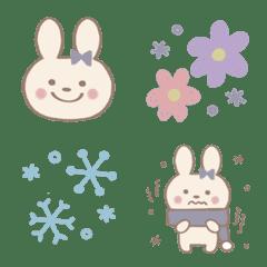 อิโมจิไลน์ Garry-style rabbit *