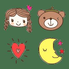 Various emoji 991 adult cute simple