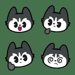 Cute Siberian Husky Emoji