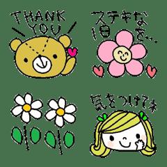 Various emoji 998 adult cute simple