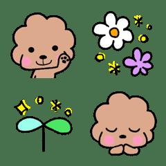 toy poodle vivi emoji 2