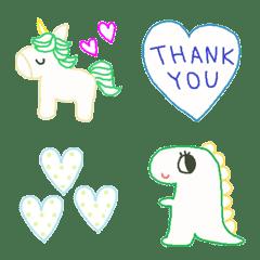 Various emoji 1000 adult cute simple