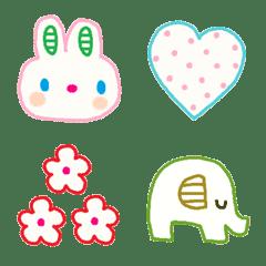 Various emoji 1002 adult cute simple