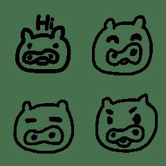 表情豬日常