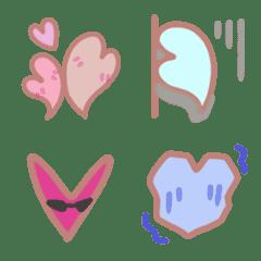 Love charming cute heart - emoji