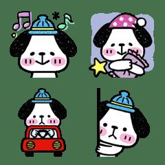 Blue Hat Dog
