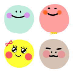 Colorful round child