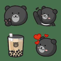 呆灣歐熊 Formosan black bear 表情貼
