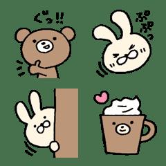 Loosey cute bear&rabbit