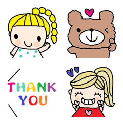 Various emoji 1005 adult cute simple