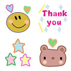 Various emoji 1011 adult cute simple