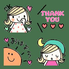 Various emoji 1016 adult cute simple