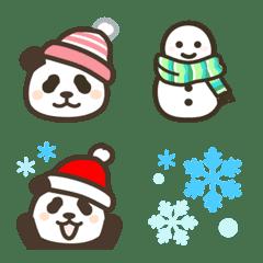 Pandan winter emoji