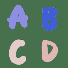 英文字母ABC80