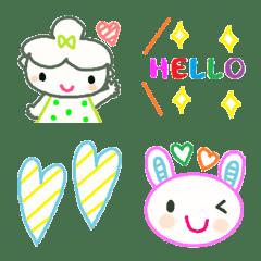 Various emoji 1019 adult cute simple
