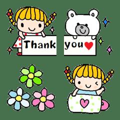 Various emoji 1020 adult cute simple