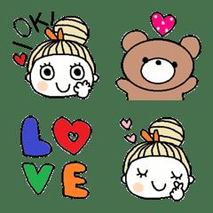 Various emoji 1018 adult cute simple