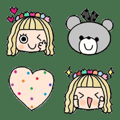 Various emoji 1021 adult cute simple