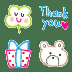 Various emoji 1022 adult cute simple