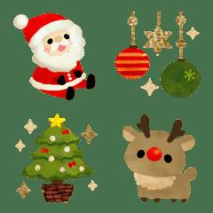 รูปสัญลักษณ์คริสต์มาสน่ารัก