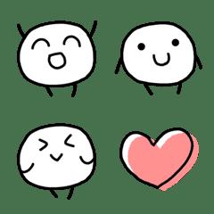 This white round Emoji