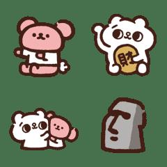 凹凹熊 feat. 爽爽猫 表情貼